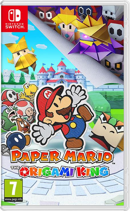 Jeu Paper Mario: The Origami King sur Switch (Retrait magasin uniquement)