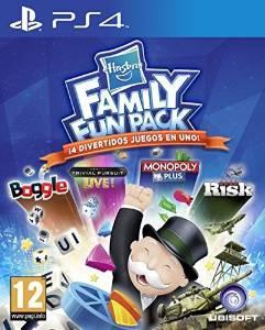 Hasbro Family Fun Pack (Monopoly, Trivial Pursuit, Boggle, Risk) sur PS4