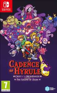 Cadence Of Hyrule Crypt Of The Necrodancer Featuring The Legend Of Zelda sur Nintendo Switch