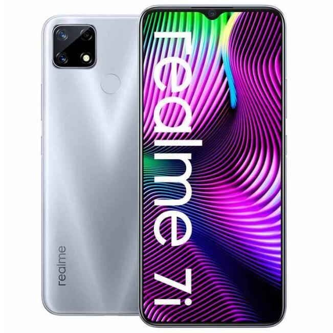 """[Nouveaux clients] Smartphone 6.5"""" Realme 7i - HD+, Helio G85, RAM 4 Go, 64 Go, 6000 mAh, 48+8+2 MP (86€ depuis la France)"""