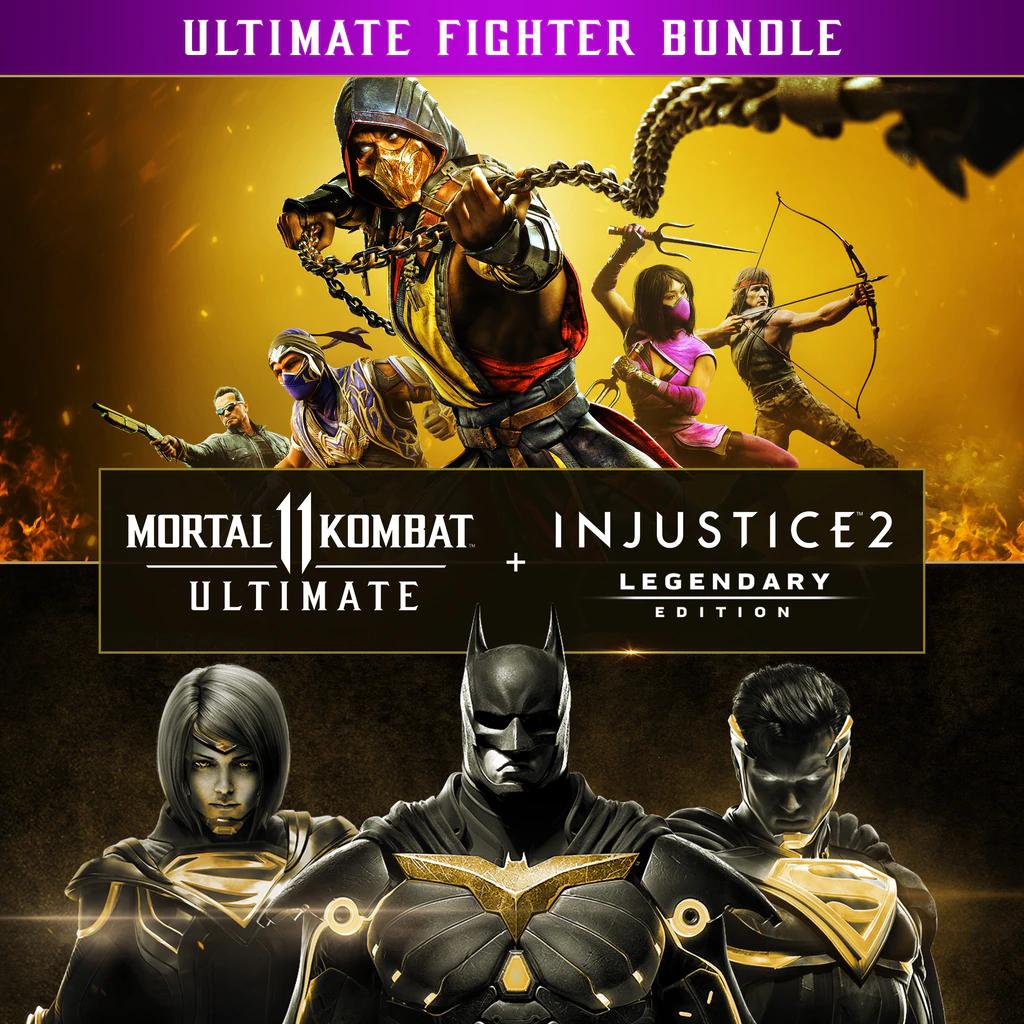Pack Injustice 2 Édition Legendary + Mortal Kombat 11 Ultimate sur PS4 (dématérialisé)