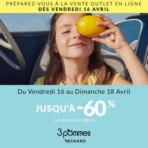 Sélection de vêtements pour enfant 3 Pommes & Beckaro en promotion - KidilizOutlet.com