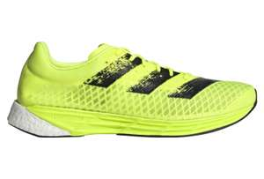 Chaussures de Running Adidas Adizero Pro - Jaune / Noir