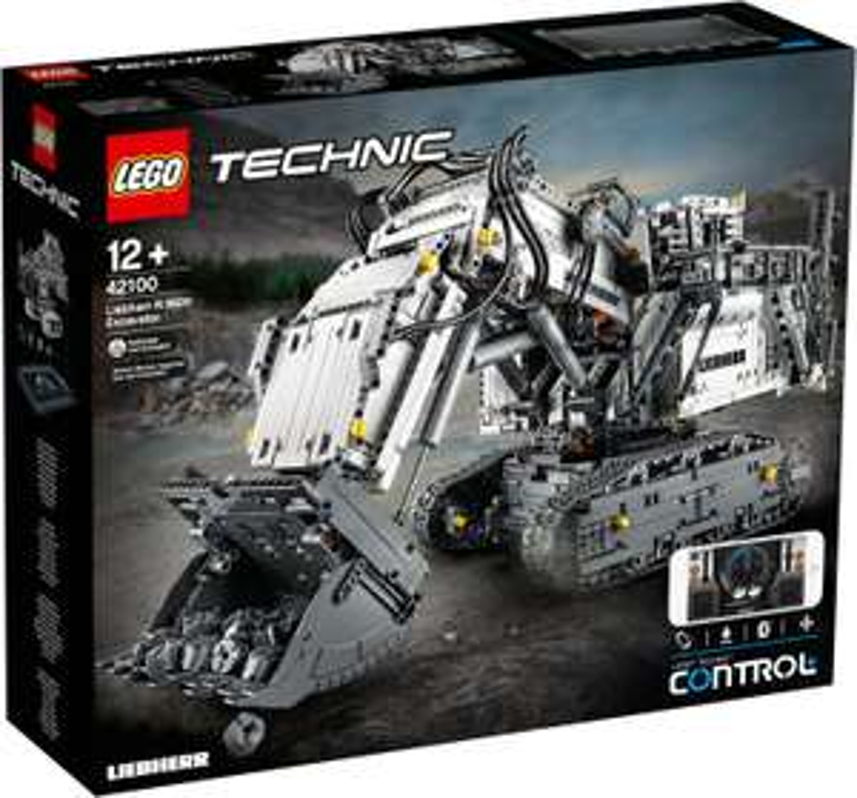 Jouet Lego Technic - La pelleteuse Liebherr R 9800 (42100)