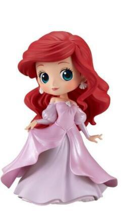 50% de réduction (sur la 2eme) sur une sélection de figurines Q Posket - Ex: Ariel en robe de princesse