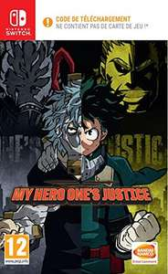 My Hero One's Justice sur Switch