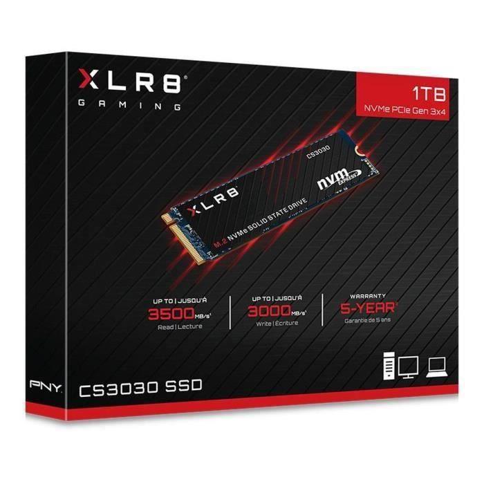 SSD interne M.2 PNY CS3030 NVMe - 1 To