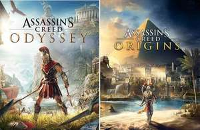Assassin's Creed Odyssey à 7.31€ & Origins à 5.85€ sur PS4 / PS5 (Dématérialisés, Store BR)