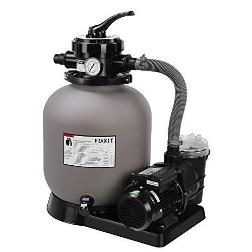 Pompe de piscine avec filtre à sable Fixkit - 10 m3/h (vendeur tiers)