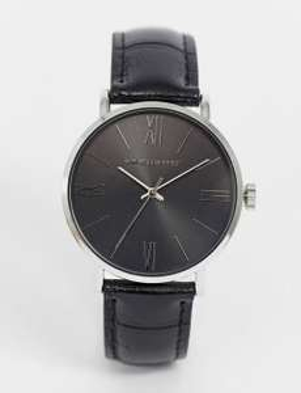 Montre analogique Asos Design - bracelet en imitation cuir avec effet croco