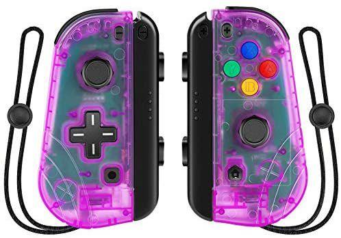 Manettes sans-fil gauche et droite Proslife pour Nintendo Switch / Switch Lite