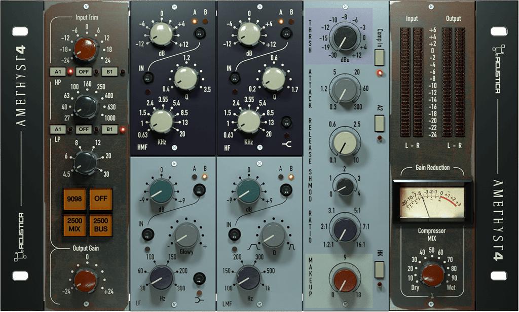 Plug-in VST / AAX / AU Amethyst Acustica (dématérialisé) - acustica-audio.com