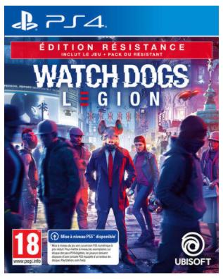Watch Dogs Legion Edition Resistance sur PS4/PS5 et Xbox One/Series