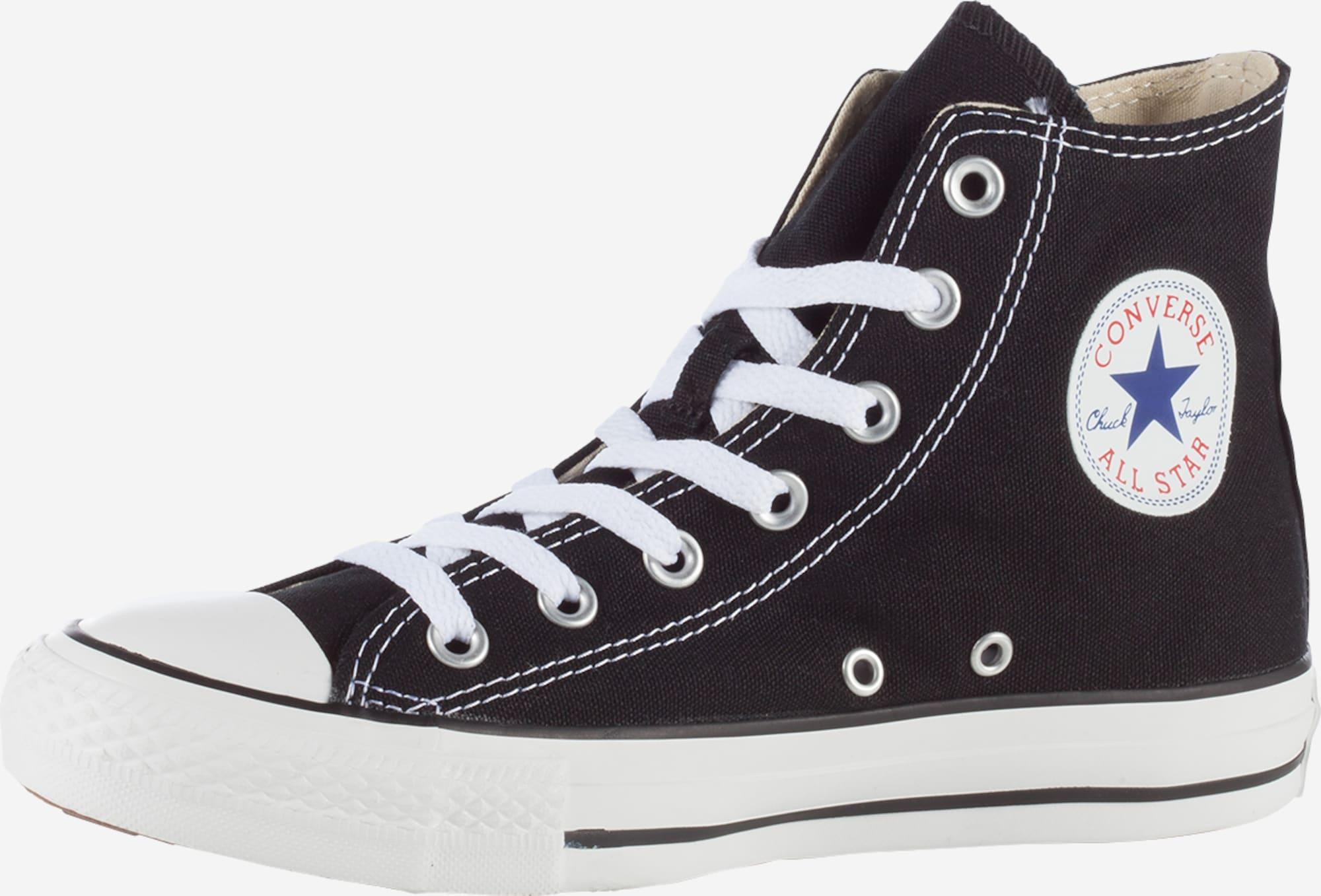 Chaussures Converse Chuck Taylor All Star Hi - noir/blanc (du 35 au 46)