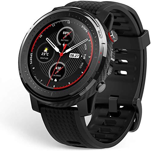 Montre connectée GPS Amazfit Stratos 3 - Noir