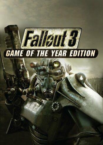 Fallout 3 Game Of The Year Edition à 2,91€ (Dématérialisé - Steam)