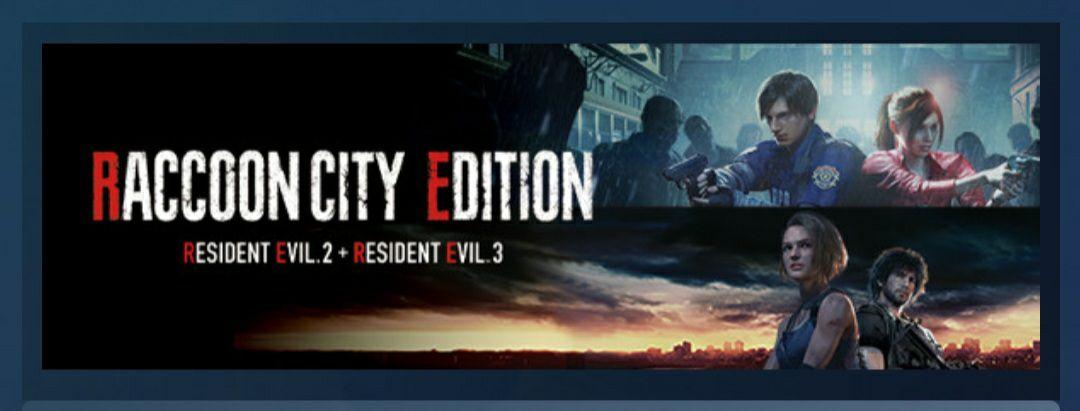Bundle Resident Evil 2 et 3 - Raccoon City Edition sur PC (Dématérialisé)