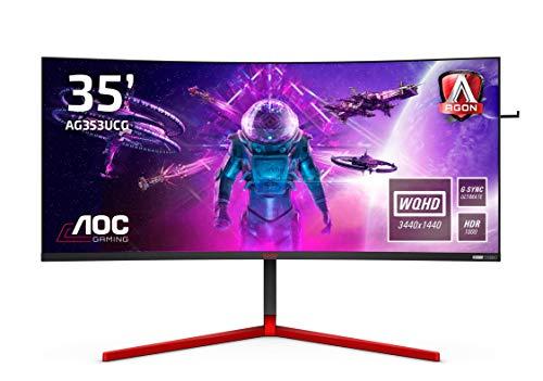 "Écran PC 35"" AOC AG353UCG - UWQHD, HDR 1000, 200Hz, 2ms, VA , G-Sync Ultimate"