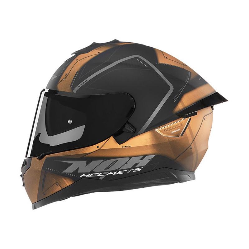 Sélection de casques moto (intégraux, modulables, Jet, équipements...) en promotion - Ex : Casque moto intégral Nox N302-S