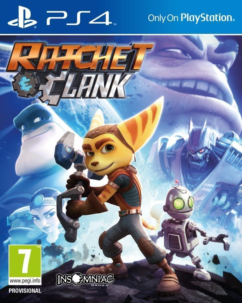 """[Précommande] Ratchet et Clank sur PS4 (+ DLC """"Le rebondisseur"""")"""