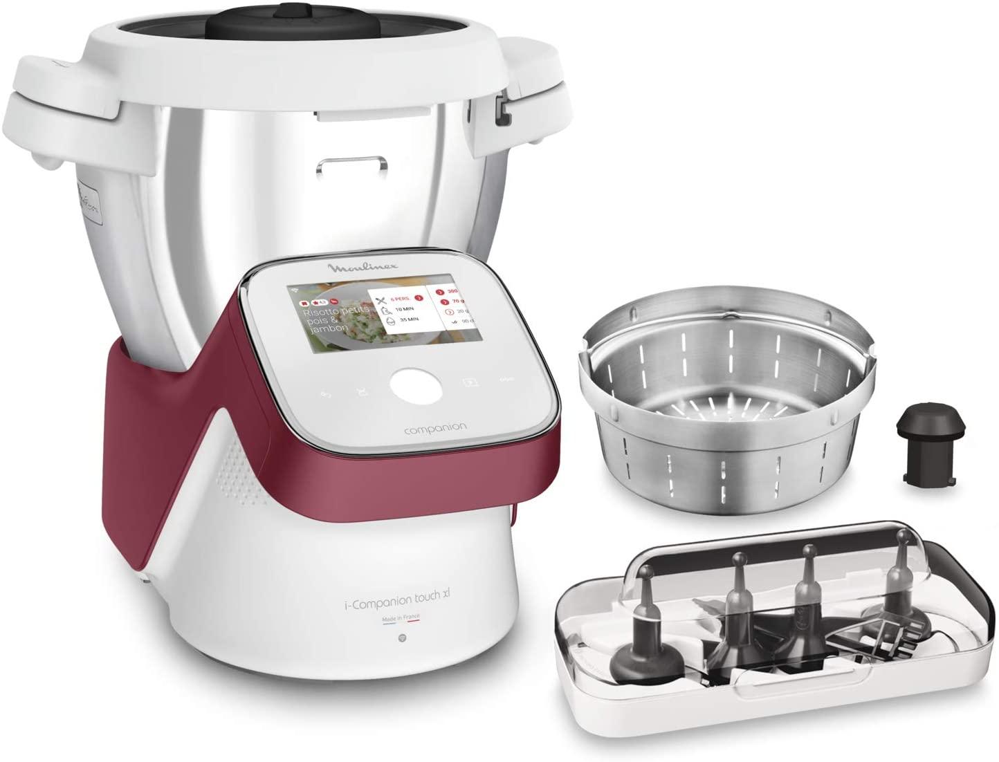 Robot de Cuisine Multifonction Moulinex I-Companion Touch XL HF934510