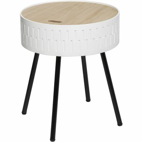 Table avec coffre et plateau Atmosphera HIBO - Coloris au choix (via 2.95€ sur la carte de fidélité)