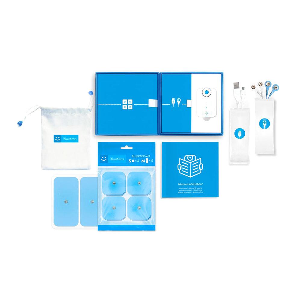 Pack Appareil électrostimulation Bluetens - Blanc
