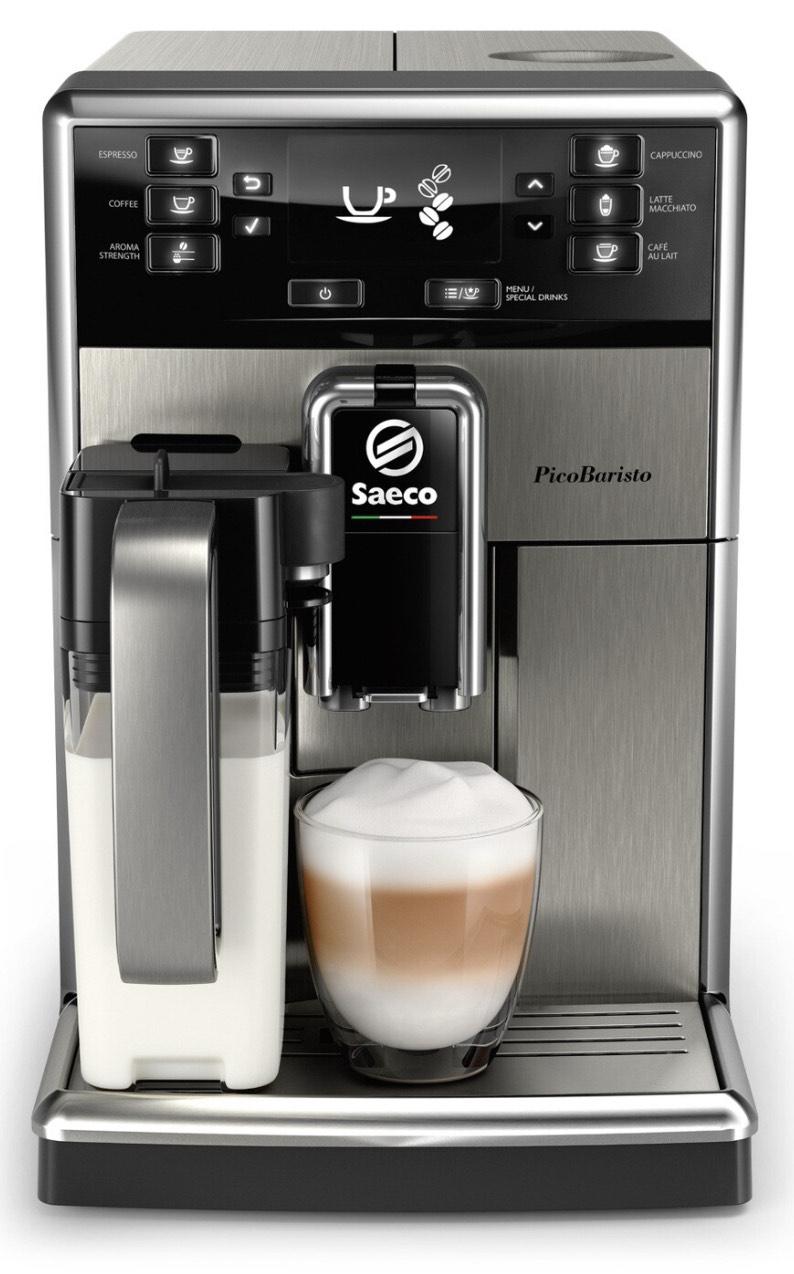 Machine à expresso automatique avec broyeur Saeco PicoBaristo SM5473/10