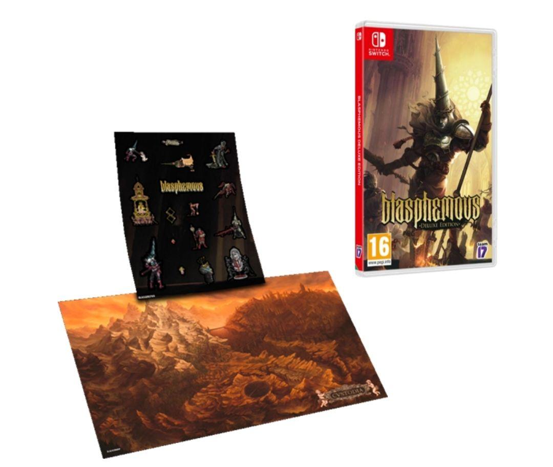 [Précommande] Blasphemous Digital Deluxe Edition sur Nintendo Switch et PS4
