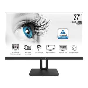"Ecran PC 27"" MSI Pro MP271QP - QHD, Dalle IPS, 5 ms (via ODR 30€)"