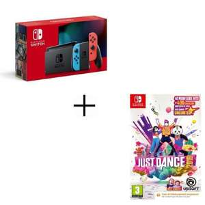 Console Nintendo Switch 2019 + Just dance 2019