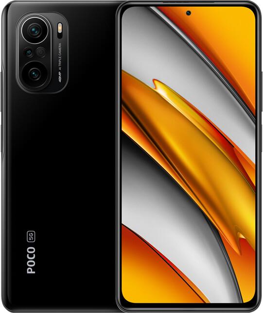 "Smartphone 6.67"" Xiaomi Poco F3 5G - full HD+ 120 Hz, SnapDragon 870, 6 Go de RAM, 128 Go"