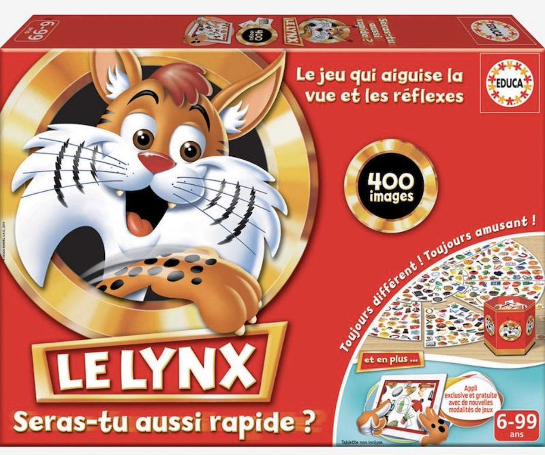 Jeu de société INTERACTIF Educa Le Lynx - 400 images