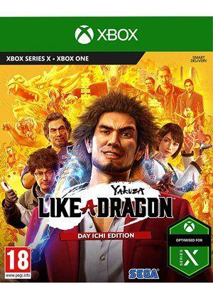 Yakuza: Like a Dragon - Édition Day Ichi sur Xbox One & Series S/X (avec steelbook)