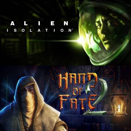 Hand of Fate 2 et Alien: Isolation Gratuits sur PC (Dématérialisés)