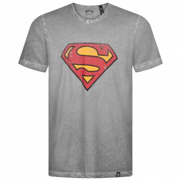 Sélection de tee-shirts Gozoo en promotion - Ex : Logo Superman Classique (gris, du XS au XXL)