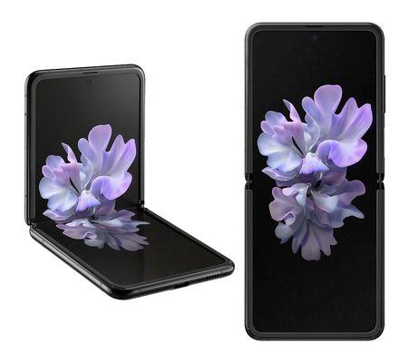 "Smartphone pliable 6.7"" Samsung Galaxy Z Flip 4G - 256 Go, 8 Go RAM - Noir ou Violet"