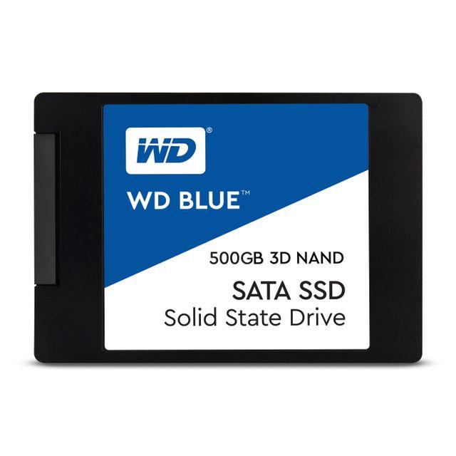 """SSD interne 2.5"""" Western Digital Blue (WDS500G1B0A) - 500 Go"""