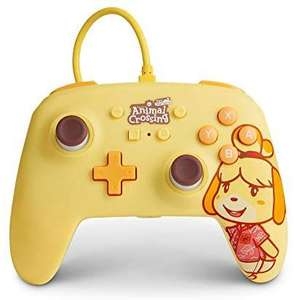 [Précommande] Manette PowerA Enhanced Wired Controller pour Nintendo Switch - Animal Crossing: Marie