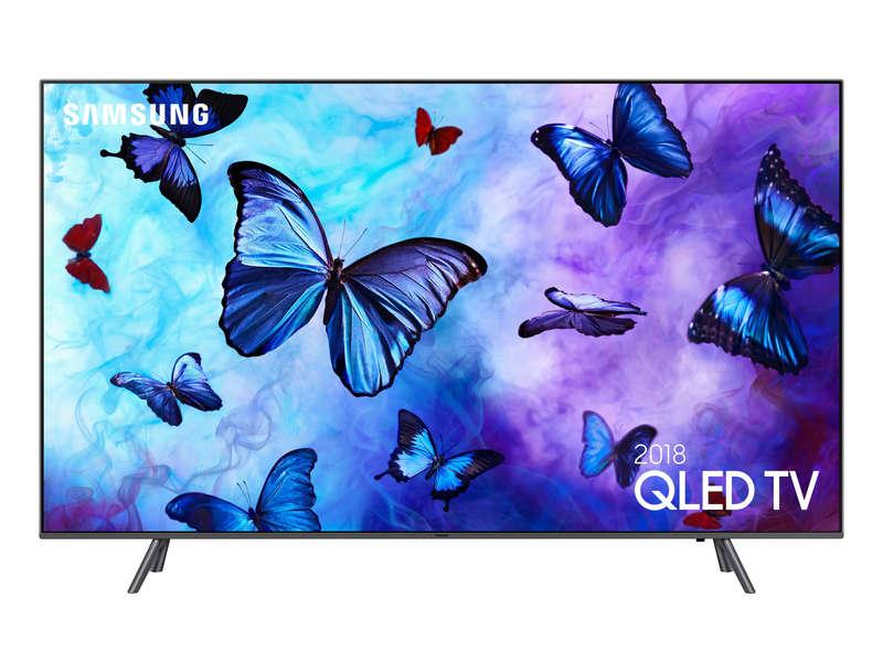 "TV QLED 75"" Samsung QE75Q6F - 4K UHD, HDR 10+, 100 Hz, Smart TV"