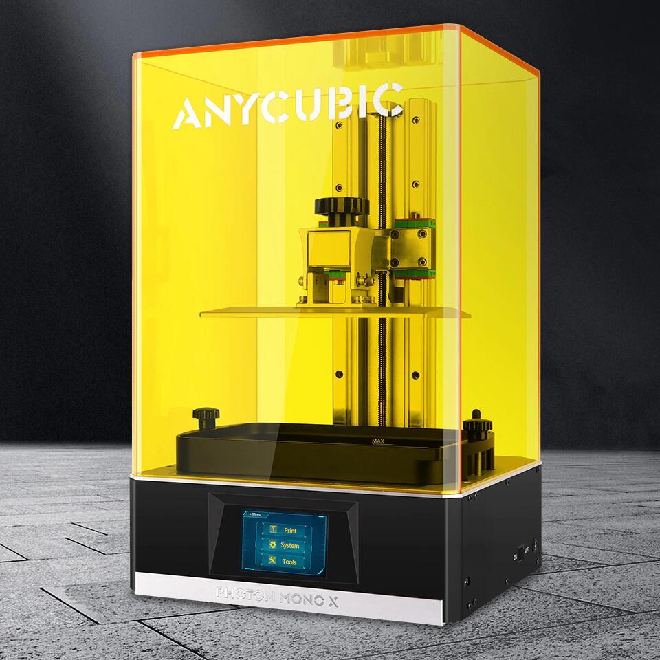 """Imprimante 3D Résine Anycubic Photon Mono X - 8.9"""" 4K, WiFi / Application, 192 x 120 x 245 mm (Entrepôt Allemagne)"""