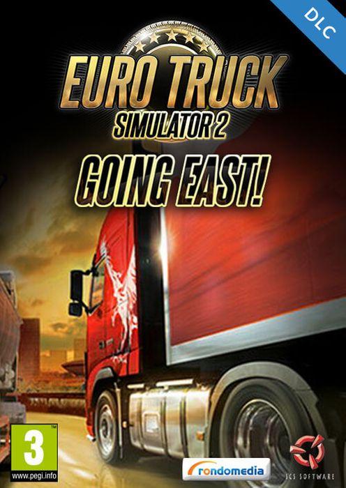 DLC Euro Truck Simulator 2: Going East! sur PC (Dématérialisé - Steam)