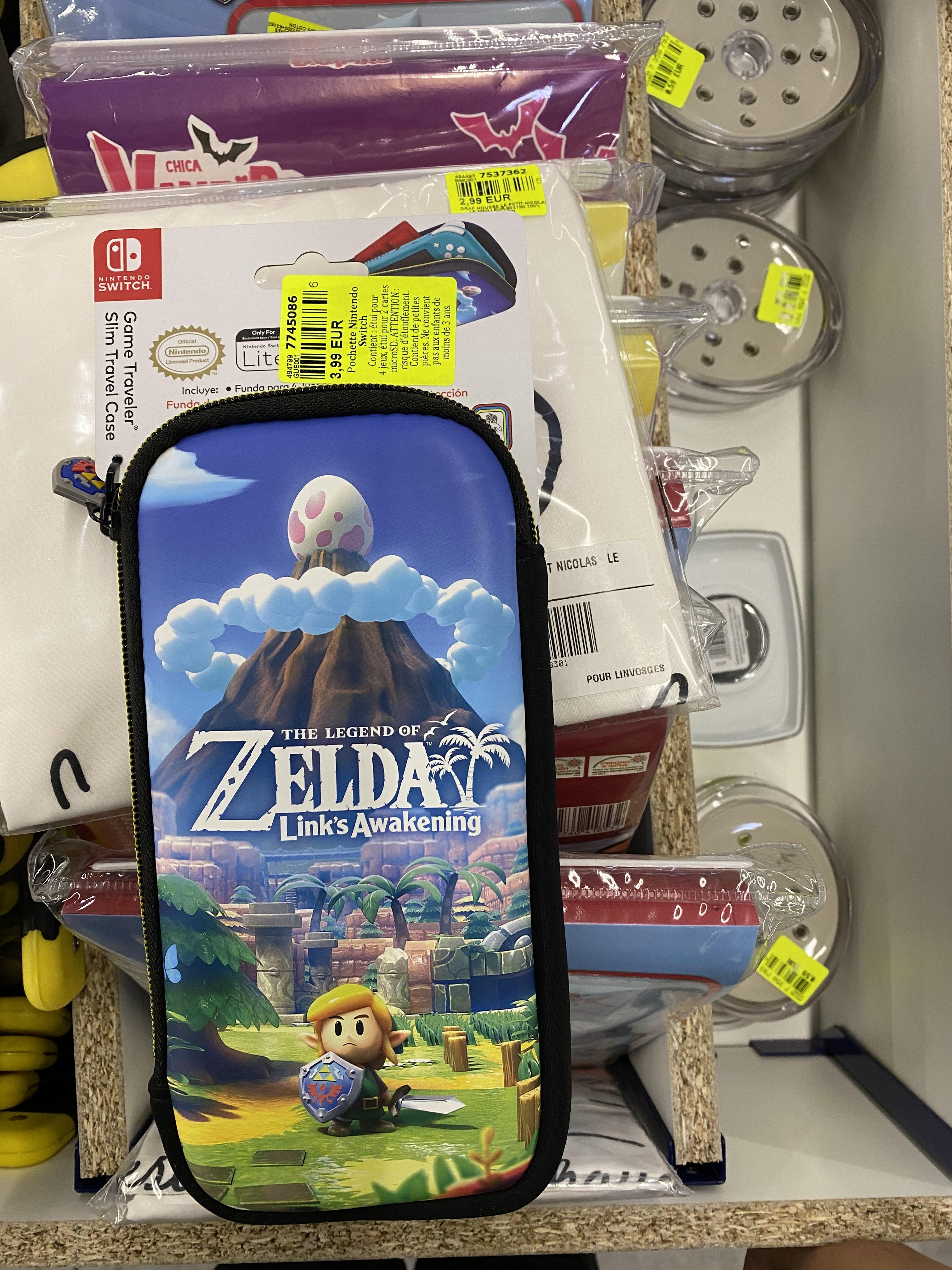 Etui Nintendo Switch lite Zelda - Tourcoing (59) NOZ