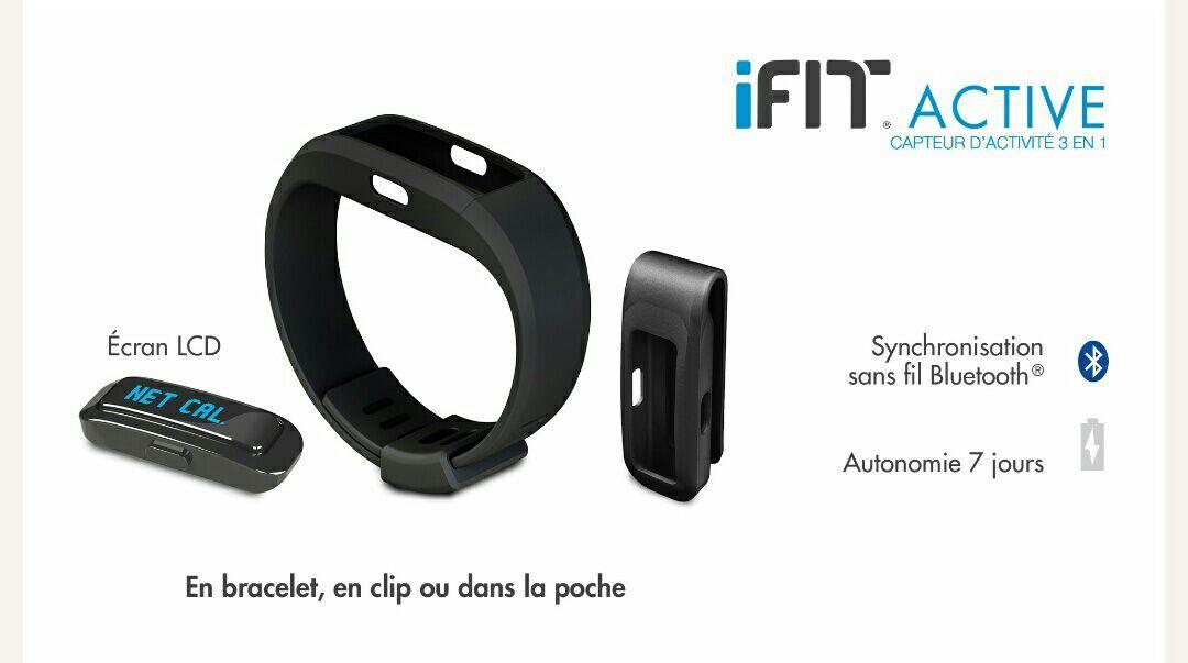 Moniteur d'activité iFit Active