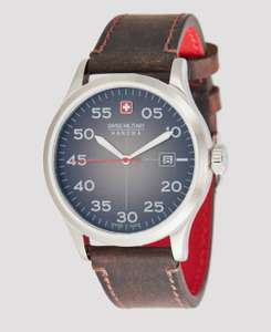 Montre à Quartz Swiss Military Hanowa Active Duty II - 42mm - Verre Saphir