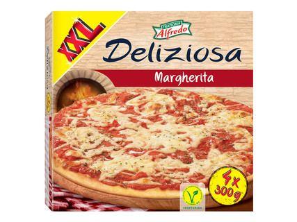 """Paquet de 4 pizzas Margherita """"Deliziosa Alfredo"""" (4x300g)"""