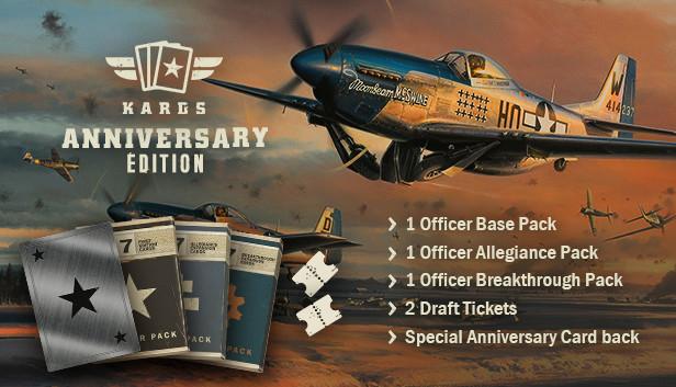 DLC Pack Anniversary Edition pour Kards The WWII Card Game Gratuit sur PC (Dématérialisé)
