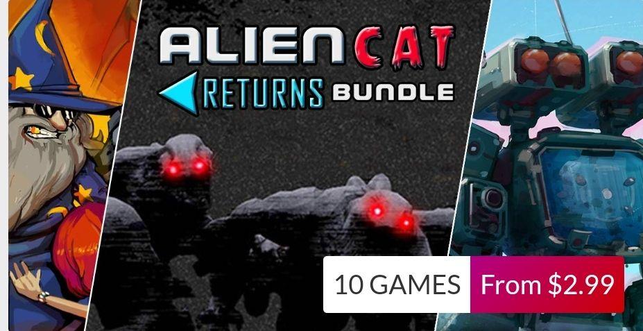 Alien Cat Returns Bundle - 10 jeux sur PC (Dématérialisé - Steam)
