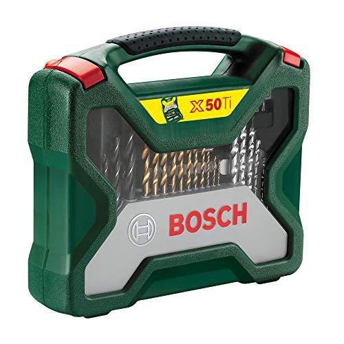 Coffret outils perçage/vissage Bosch X-Line Titanium Set 2607019327 - 50 pièces
