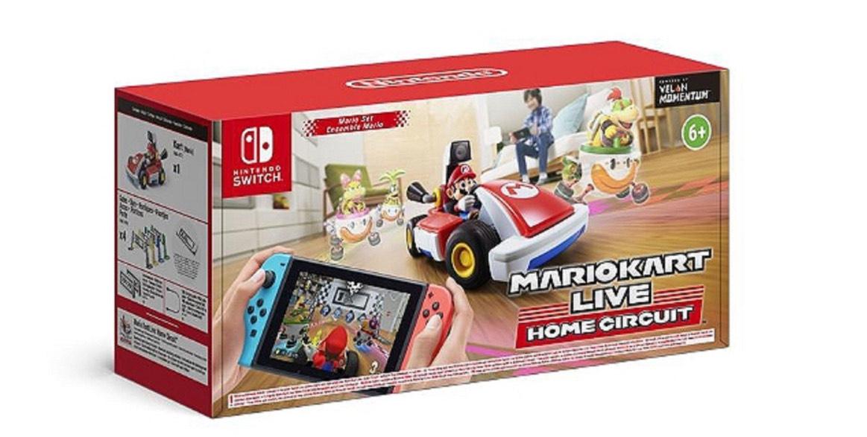 Mario kart Live : Home Circuite sur Nintendo Switch